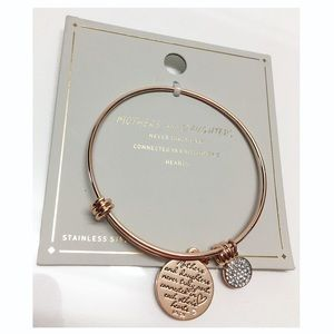 NWT Mother + Daughter Never Apart Bracelet & Charm